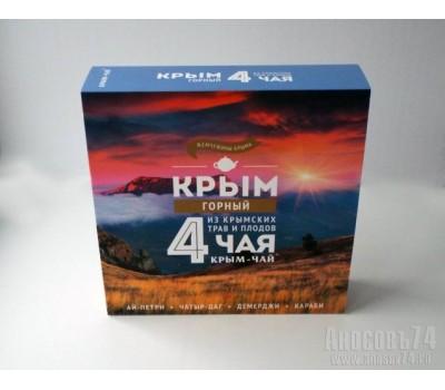 Набор Крым - Горный (4 чая)
