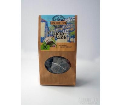 Крым-чай  Черный с горным чабрецом (в пирамидках)